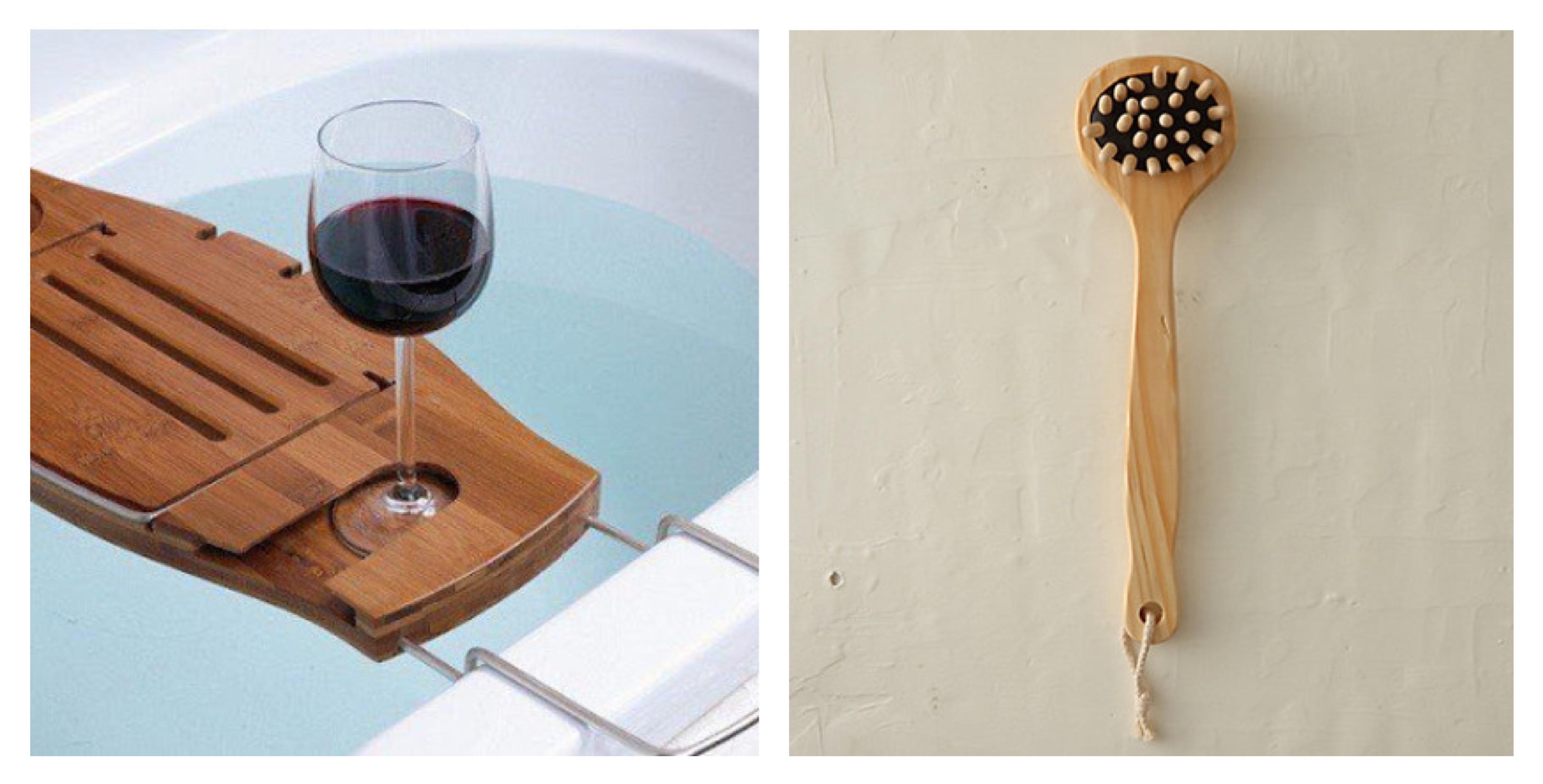 Aquala Luxury Bamboo Bathtub Caddy. Bamboo Bathtub Caddy Home Depot ...