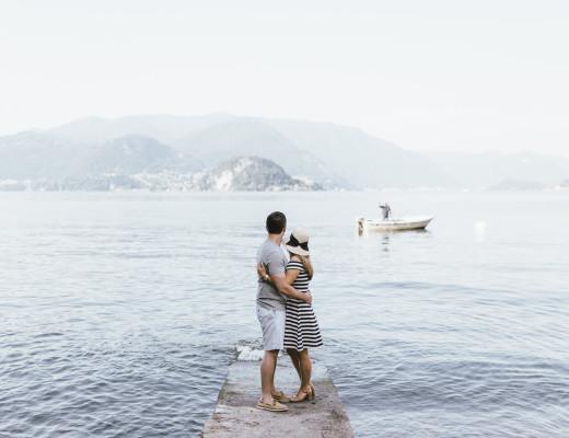 Elena in Lake Como for Flytographer
