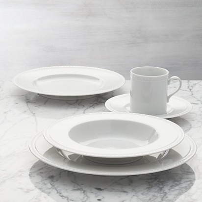 Staccato 5-Piece Place Setting - White