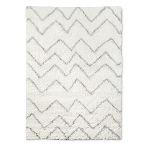 Chevron Shag Area Rug - Pillowfort™
