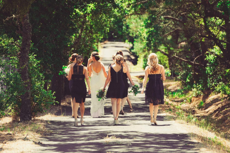 Mismatched Bridesmaid Dresses: Sample Registry