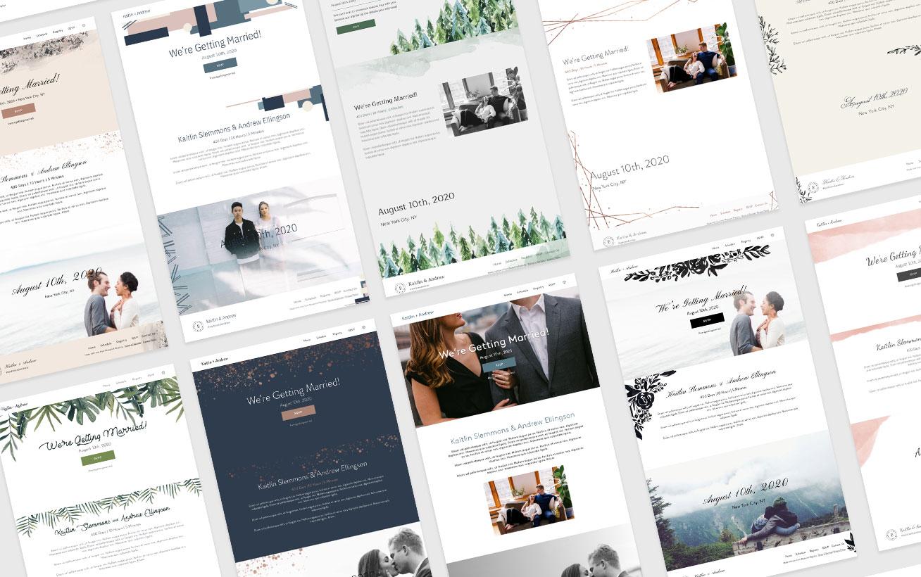 Blueprint Wedding Website Template Guide